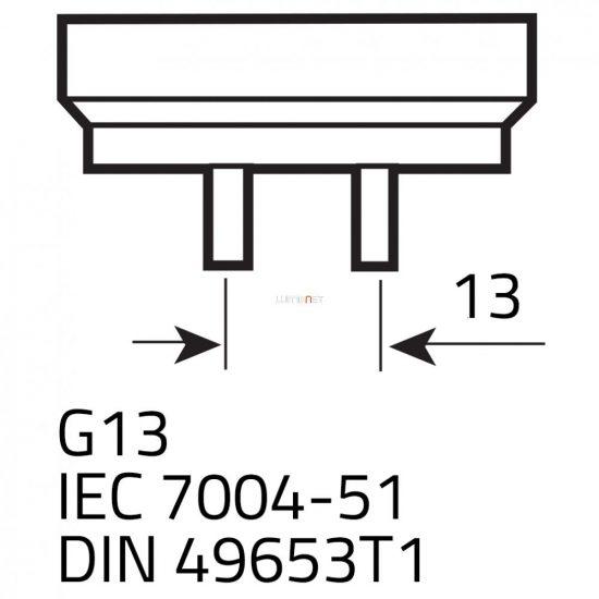 "SYLVANIA LUXLINE PLUS F25W/30""/840 G13 fénycső 742mm 0000877"
