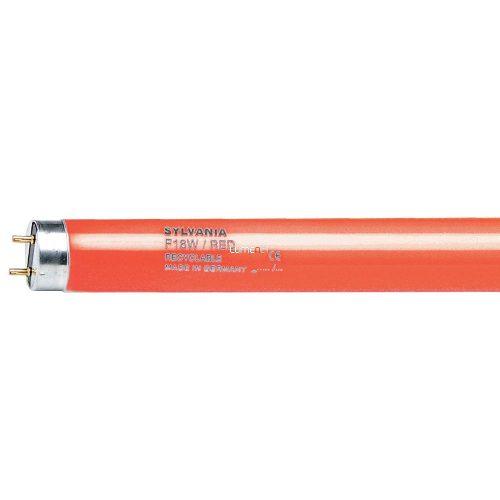 Sylvania F 18W/T8/R RED/piros 0002572 598mm