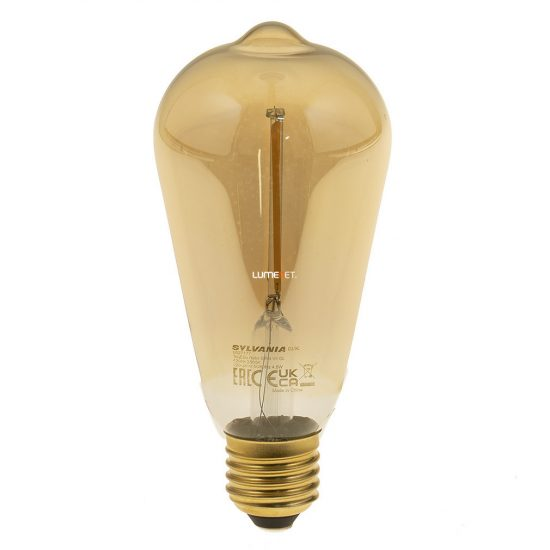 Sylvania ToLEDo Retro ST64 GOLDEN 4W E27 470lm 2400K 0027177 led