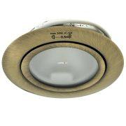 Kanlux Gavi CT-2116B-BR/M süllyesztett bútorvilágító spot 1xG4 max.20W