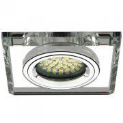 KANLUX MORTA CT-DSL50-SR Gx5,3 Fix Süllyesztett üveg,szögletes 18512