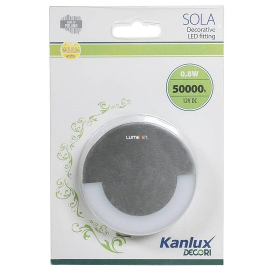 KANLUX SOLA LED 0,8W 12V WW 3000K 23100