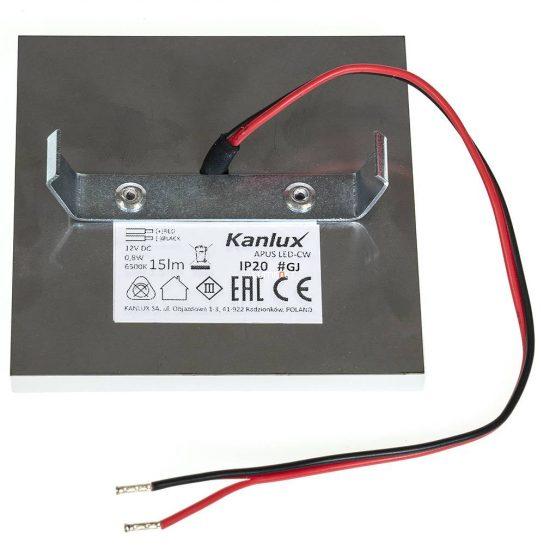 KANLUX APUS LED 0,8W 12V CW 6500K 23107