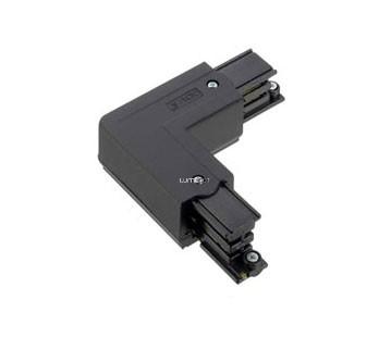 Nordic Global Trac XTS 34-2, 3 fázisú L alakú sínösszekötő, fekete
