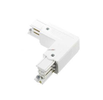 Nordic Global Trac XTS 35-3, 3 fázisú fordított L alakú sínösszekötő, fehér