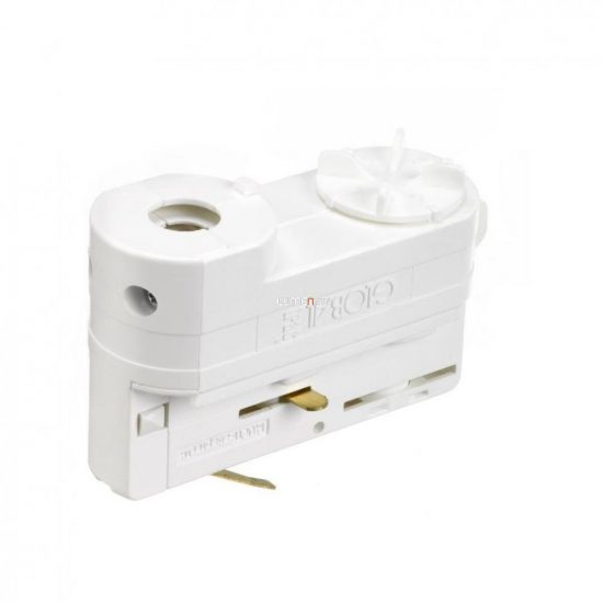 NORDIC GLOBAL TRAC  XTSA 68-3 MULTI-adapter 3 fázisú sínhez, fehér