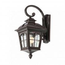 Redo 9647 YORK AP JOS IP44 MARE antik fekete festés barna fénnyel, átlátszó 1xE27 max. 100W lámpa