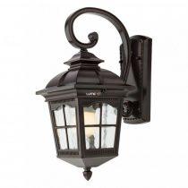 Redo 9664 YORK AP JOS IP44 MICA antik fekete festés barna fénnyel, átlátszó 1xE27 max. 100W lámpa