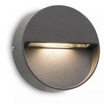 Redo 9149 EVEN AP LED SMD 3W IP54 DG RO  (5f) sötétszürke LED lámpa
