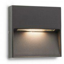 Redo 9151 EVEN AP LED SMD 3W IP54 DG SQ (5f) sötétszürke LED lámpa