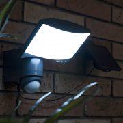 Lutec 6256-PIR-SL Sunshine kültéri napelemes LED lámpa 7,5W 5000K 2200mAh Li-ion