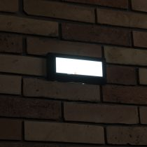 Lutec Helena 1916 10,5W LED IP54 4000K 400lm kültéri falba építhető lámpa
