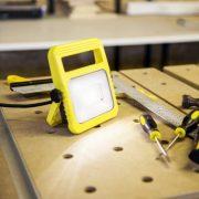 Lutec 6297-5K YE UTIN 10W LED hordozható sárga kültéri lámpa