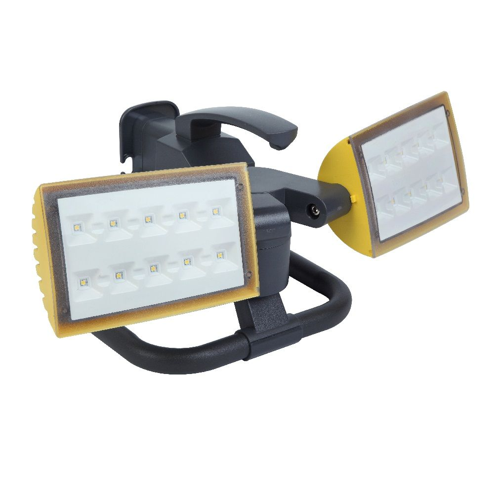 Lutec 7629301341 Peri 2x10,5W 5000K 2000lm IP54 hordozható tripod kültéri LED reflektor
