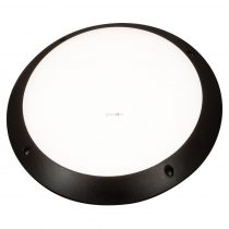 Beghelli Full Moon fali lámpa fekete 1xE27 max 75W IP66 300mm 75300