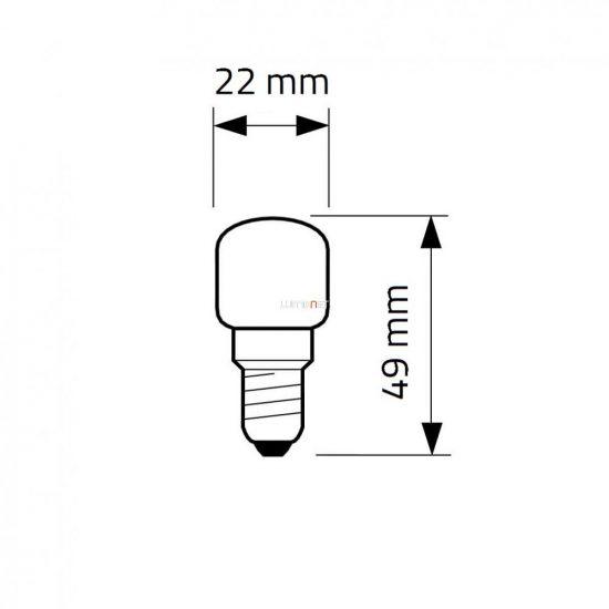 Philips Appliance 15W E14 230-240V T25 CL OVEN