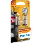 Philips Original Vision +30% 12821B2 R5W BA15s jelzőizzó