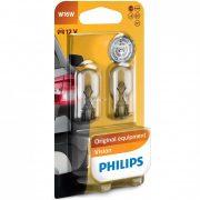 Philips Original Vision +30% 12067B2 W16W 12V