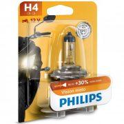 Philips MotoVision 12342PRBW +30% H4