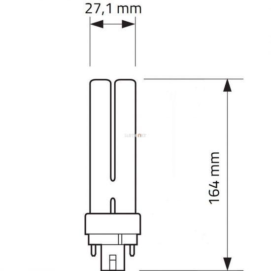 Philips MASTER PL-C 26W/830 4pin G24q-3