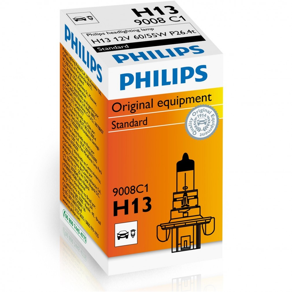 Philips Standard 9008 H13