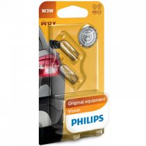 Philips Original Vision +30% 12256B2 W3W 12V