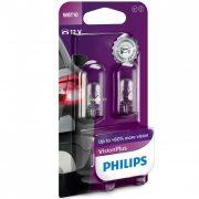 Philips W5W VisionPlus 12040VPB2 2db/csomag