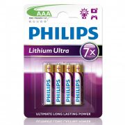 Philips Lithium Ultra FR03LB4A/10 AAA mikro elem LR03 4db/csomag