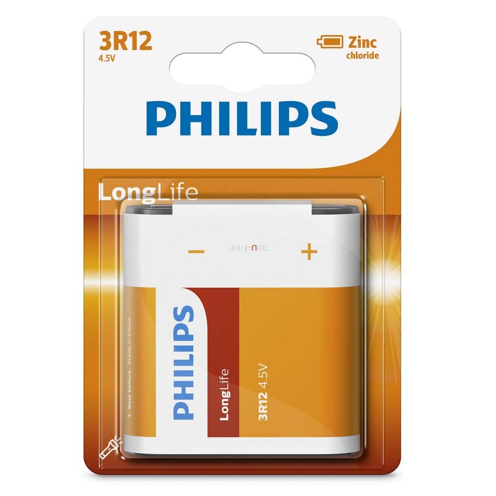 Philips LongLife 3R12L1B/10 4,5V lapos elem