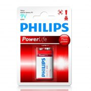 Philips PowerAlkaline 6LR61-P1B/10 e-block 9V elem