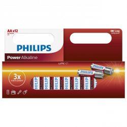 Philips PowerAlkaline LR6P12W/10 AA ceruza elem LR6 12db/csomag