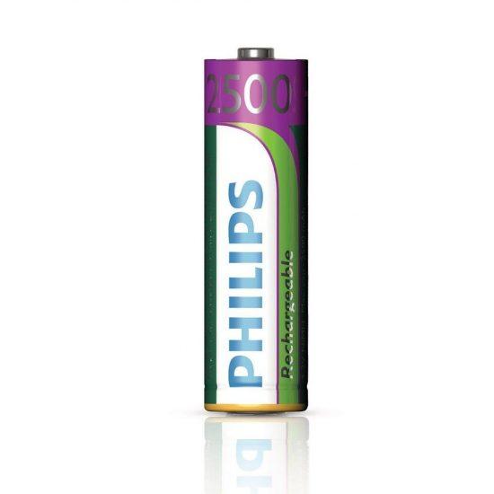 Philips MultiLife R6-B4RTU25/10 AA ceruza akku /2500mAh 4db/csomag