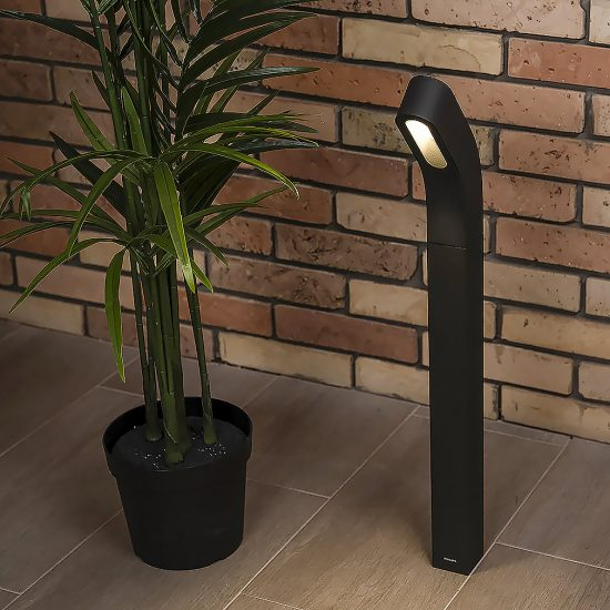 PHILIPS 16254/93/16 Dunetop lantern post LED antracit 1x7.5W LED IP44