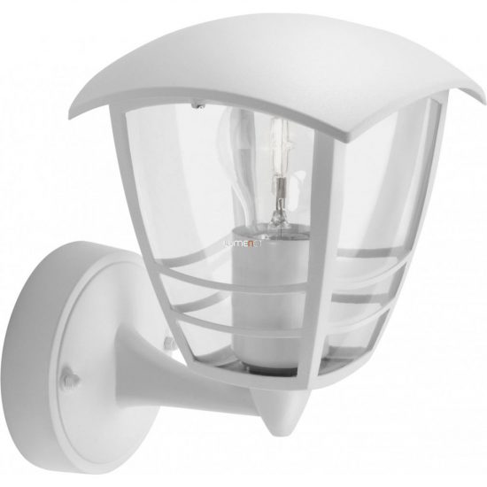 PHILIPS 15380/31/16 Creek fali lámpa fehér 1xE27 max 60W