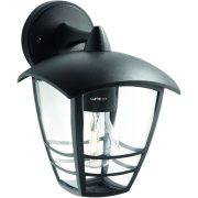 Philips 15381/30/16 Creek kültéri fali lámpa 1xE27 max.60W IP44 240x175x200mm