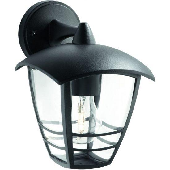 PHILIPS 15381/30/16 Creek fali lámpa fekete 1xE27 max 60W