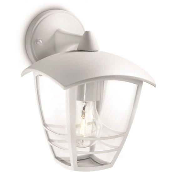 PHILIPS 15381/31/16 Creek fali lámpa fehér 1xE27 max 60W