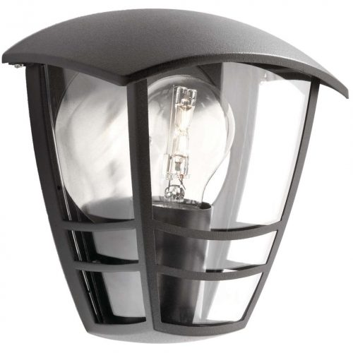 Philips 15387/30/16 Creek kültéri fali lámpa 1xE27 max.60W IP44 195x180x130mm