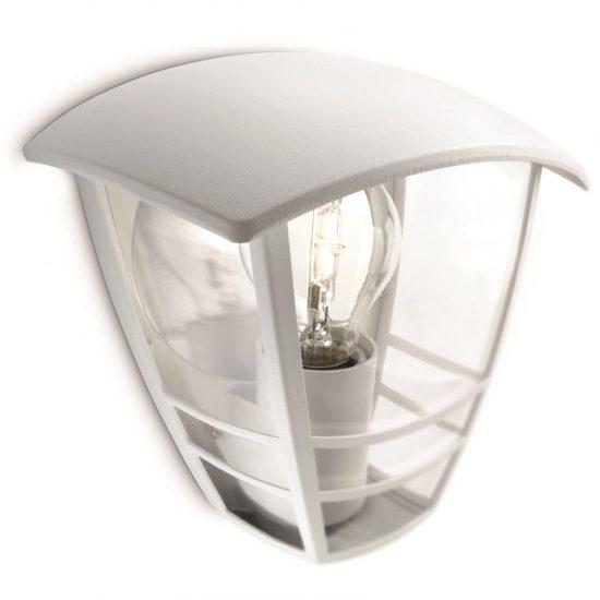 PHILIPS 15387/31/16 Creek fali lámpa fehér 1xE27 max 60W