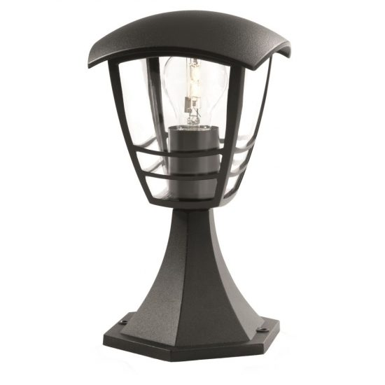 PHILIPS 15382/30/16 Creek pedestal black 1xE27 max. 60W