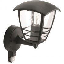 Philips 15388/30/16 Creek mozgásérzékelős kültéri fali lámpa 1xE27 max.60W IP44 285x175x200mm