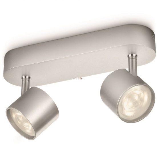 Philips 56242/48/16 Star fali/mennyezeti LED spot 2x4,5W 1000lm IP20 30000h 82x198x60mm