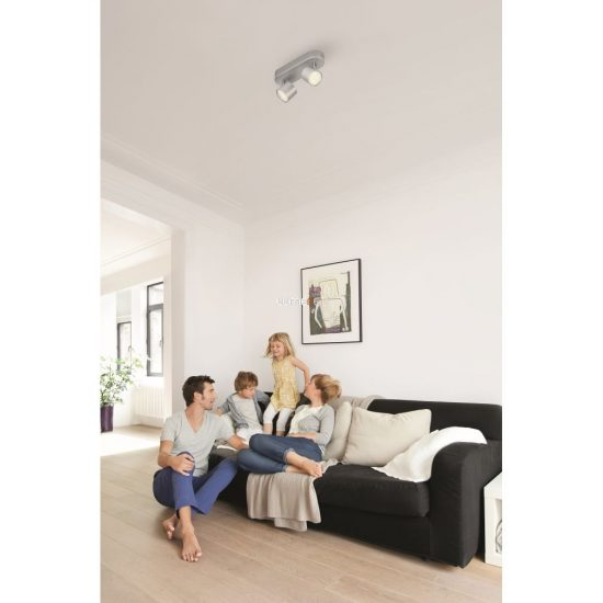 Philips 56242/48/16 Star fali/mennyezeti LED spot 2x4,5W 1000lm IP20 30000h 82x198x60mm