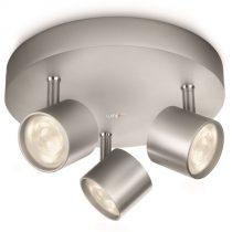 Philips 56243/48/16 Star mennyezeti LED spot 3x4,5W 1500lm IP20 30000h 82x198mm