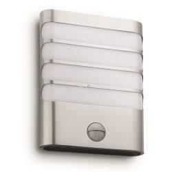 Philips 17274/47/16 Raccoon kültéri fali mozgásérzékelős LED lámpa 3W 270lm IP44 115° 25000h 205x162x75mm
