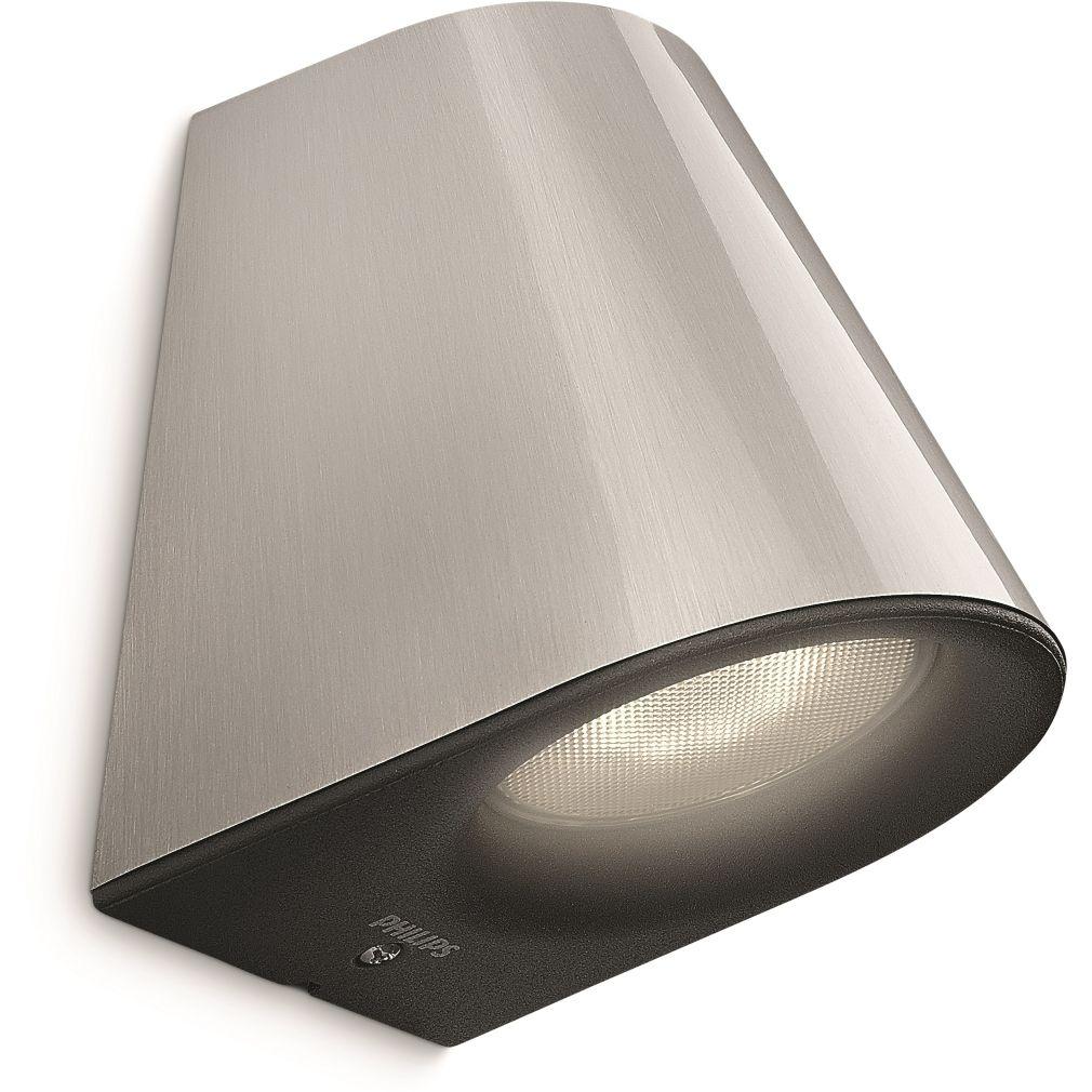PHILIPS 17287/47/16 Virga fali lámpa LED inox 1x3W