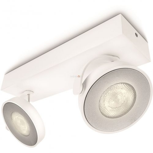 Philips 53172/31/16 Clockwork fali/mennyezeti LED spot 2x4,5W 1000lm IP20 30000h 90x255x93mm