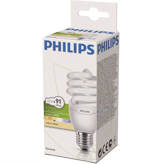 PHILIPS ECONOMY TWISTER 20W/827 E27 2700K