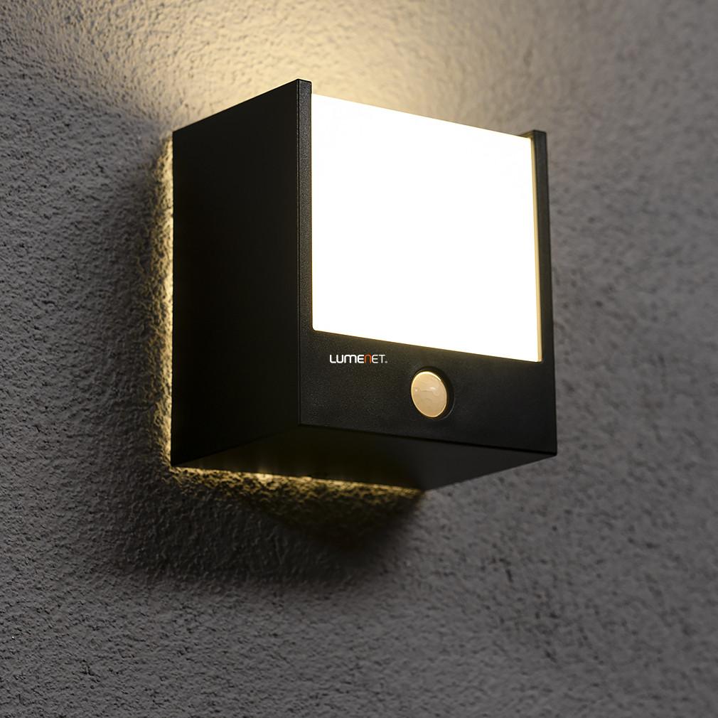 Philips 17317/30/16 Macaw kültéri mozgásérzékelős fali LED lámpa 3,5W 320lm IP44 25000h 137x127x91mm