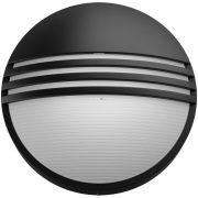 Philips 17296/30/16 Yarrow LED-es kültéri fali lámpa fekete 1x6W